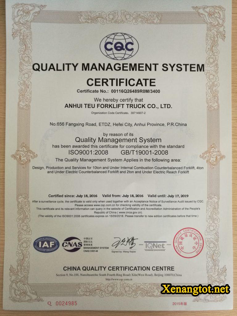 giay-chung-nhan-ISO9001-cua-nha-may-xe-nang-TEU