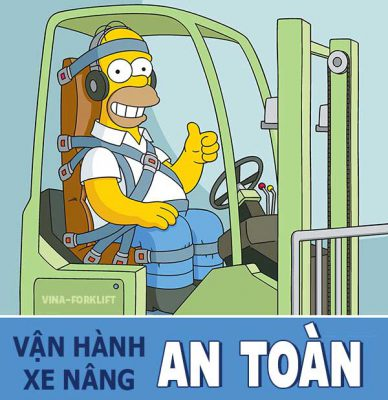 lái xe nâng an toàn