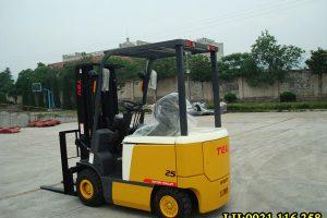 Xe nâng điện 2.5 tấn – Xe nâng TEU | Bảo hành dài hạn